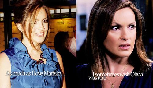 I sometimes wish Olivia was real...