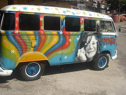 Janis Joplin busje, van