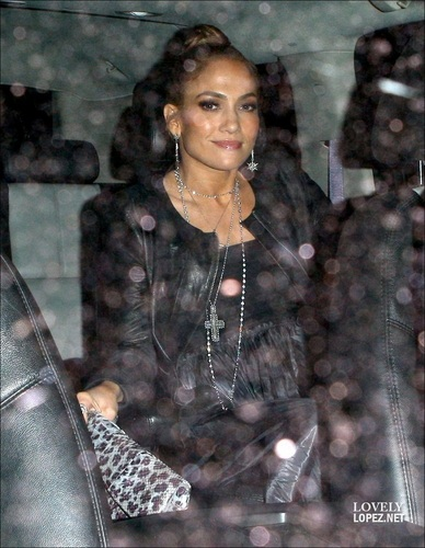 Jennifer - Leaving Cecconi's Restaurant in LA - 07 April 2011