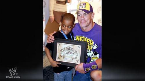 John Cena At Make A Wish 200 Wishes Celebration
