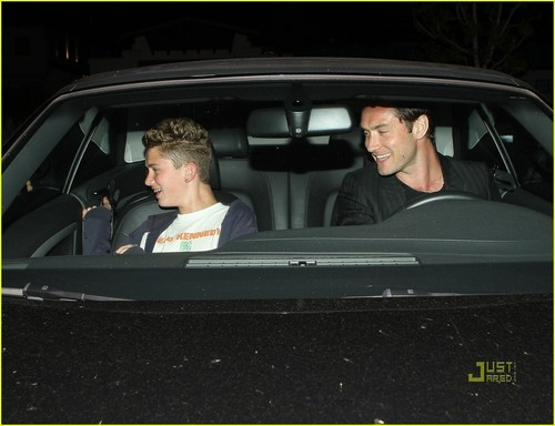 Jude Law: Out to avondeten, diner with Rafferty!