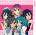 K-ON! x Touhou - anime fan art