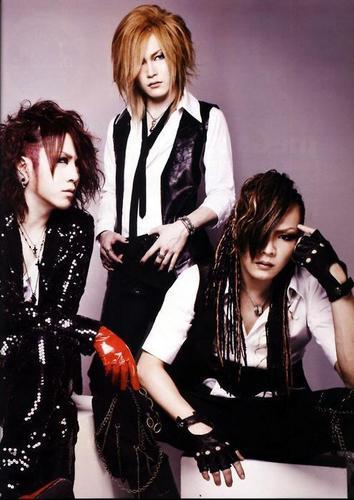 Kai, Uruha and Ruki