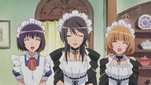 Kaichou wa maid sama_Welcome back master!!