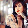 LA Ink photo containing a portrait called Kat Von D