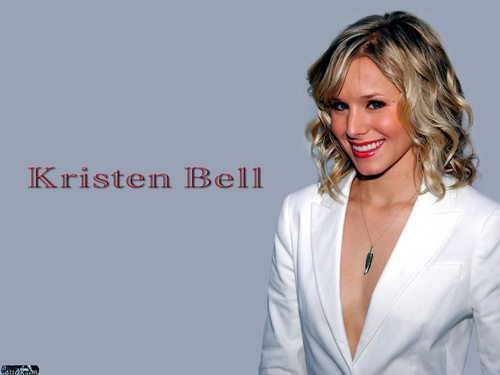 Kristen Bell wallpaper containing a portrait titled Kristen Bell