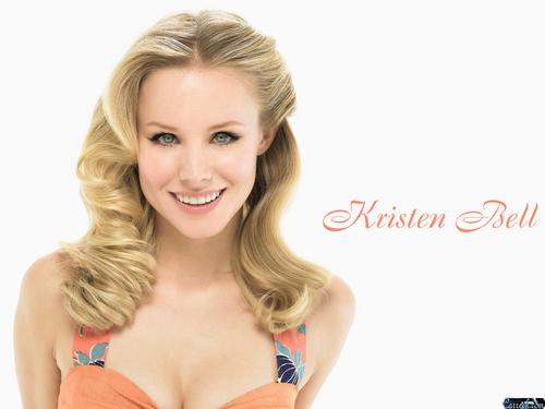 Kristen Bell wallpaper containing a portrait called Kristen Bell