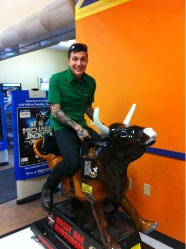 Frank Iero wallpaper called LOL Frank's New Ride!