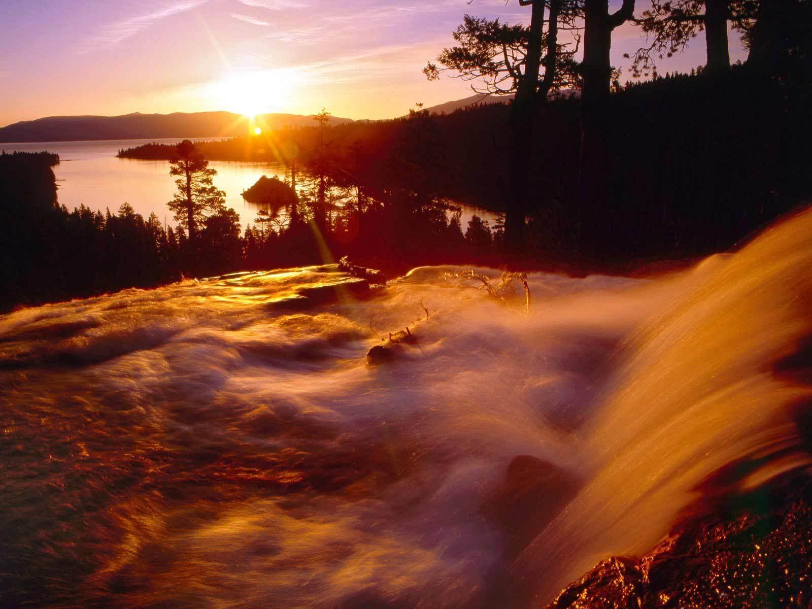 Lake Tahoe In California Beautiful Pictures Photo