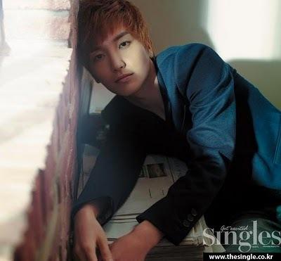Leeteuk in singles magazine