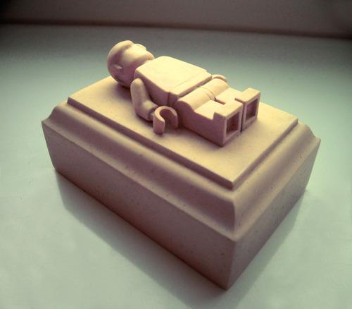 Lego gravestone