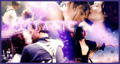 """Leo and Kate in """"Titanic"""""""