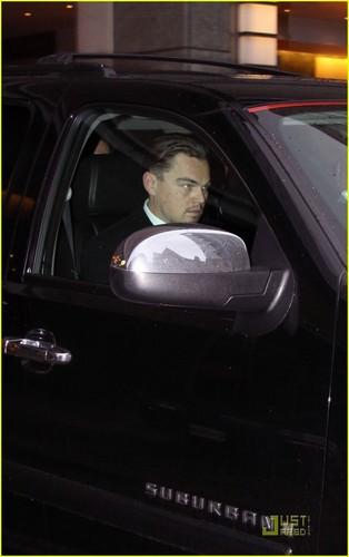 Leonardo DiCaprio: Working in Washington