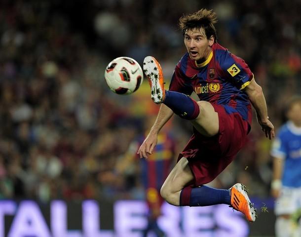 Lionel Andres Messi Lionel Messi  FC Barcelona Vs UD Almeria