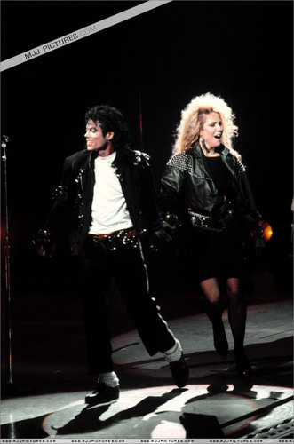 MJ BAD TOUR PICS