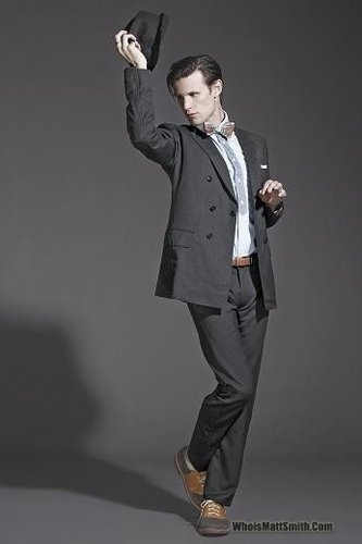 Matt Smith 壁纸 containing a business suit, a well dressed person, and a suit entitled Matt Smith
