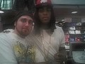 Me and Waka Flocka Flame at the Battlefield Mall in Springfield Mo - waka-flocka-flame photo