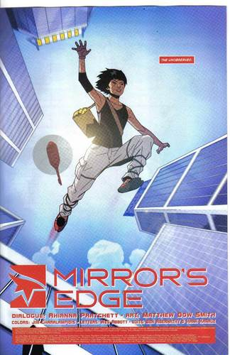 Mirror's Edge hình nền possibly with a sign and anime titled Mirror's Edge