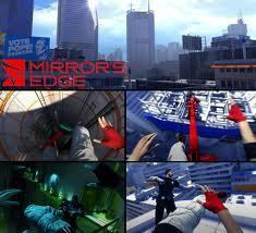 Mirror's Edge wallpaper containing a business district and a skyscraper entitled Mirror's Edge