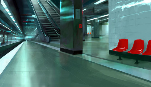 Mirror's Edge wallpaper possibly containing a revolving door titled Mirror's Edge