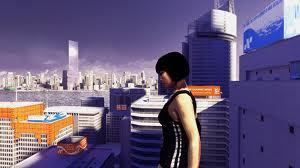 Mirror's Edge wallpaper possibly with a business district, a street, and a resort titled Mirror's Edge