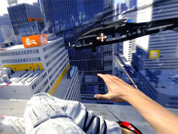 Mirror's Edge wallpaper possibly with a business district entitled Mirror's Edge