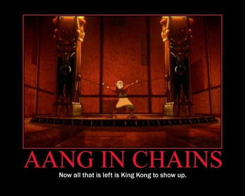 Aang in Chains