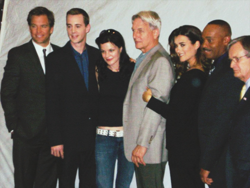 NCIS - Unità anticrimine Cast on set April 4th