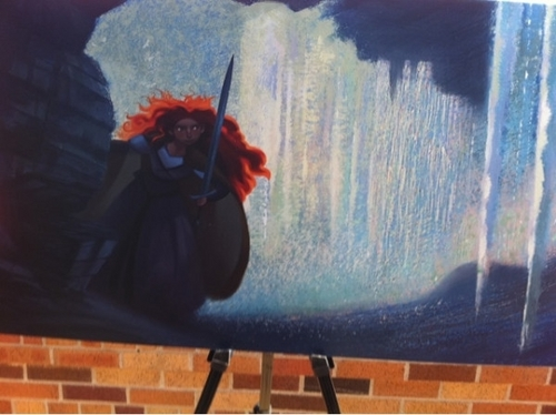 NEW concept art of merida