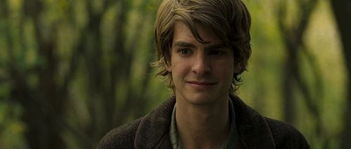 Andrew Garfield karatasi la kupamba ukuta possibly with a pullover and a portrait entitled Never Let Me Go