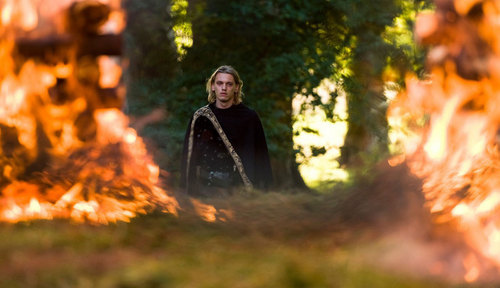 New stills of 'Camelot' with Jamie Campbell-Bower
