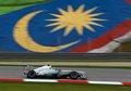Nico Rosberg qualifying at GP Malaysia,Sepang