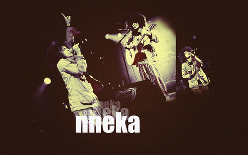 Nneka x3 at concert
