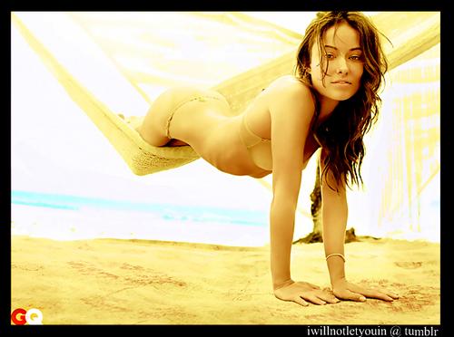 Olivia Wilde- GQ magazine photoshoot