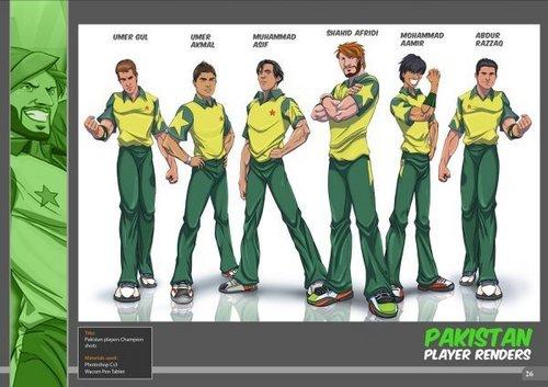 파키스탄 Cricket Team