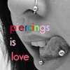 Piercings photo with a portrait called Piercing <3