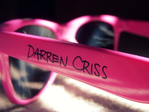 Darren Criss wallpaper called Pink glasses :)
