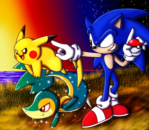 Pokemon Trainer Sonic