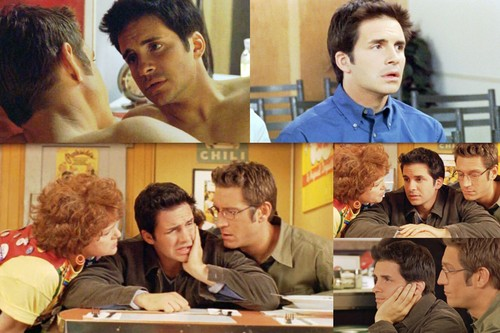 Queer As Folk wallpaper possibly containing a brasserie, a bistro, and a restaurant entitled Queer As Folk