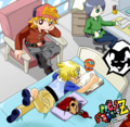 RRBz doing homework - powerpuff-girls-z-and-the-rowdyruff-boys-z photo