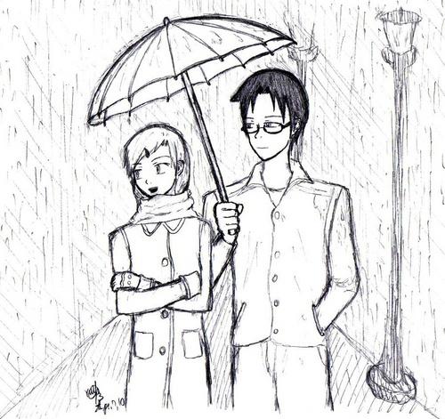 Request- Rain
