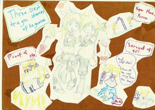 Rin and len fan art