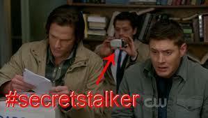 Sam, Cass, Dean