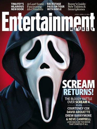 Scream 4! EW Cover