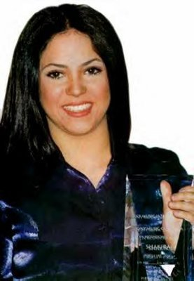 Shakira from 1990