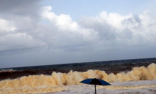 Shanghumugham ساحل سمندر, بیچ