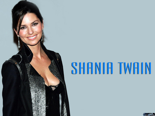 Shania Twain karatasi la kupamba ukuta possibly containing a well dressed person called Shania Twain