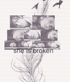 She is broken - freddie-and-effy fan art