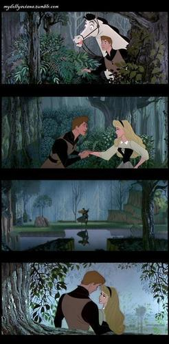 Princess Aurora achtergrond called Sleeping Beauty...