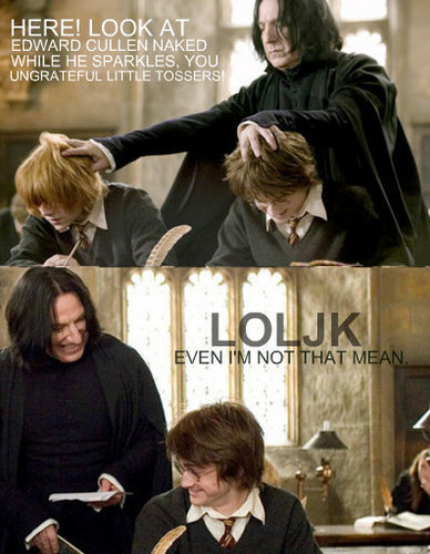 Snape: Funny